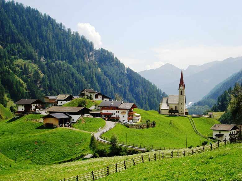 Земля Тироль в Австрии