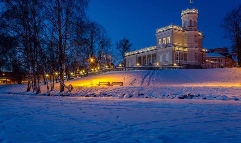 Друскининкай зимой