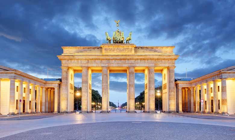 Браденбургские ворота в Германии