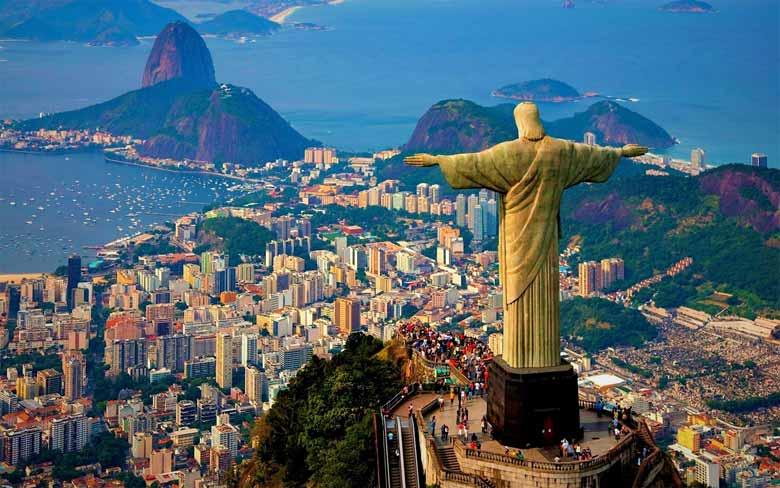 Бразилия на Новый год