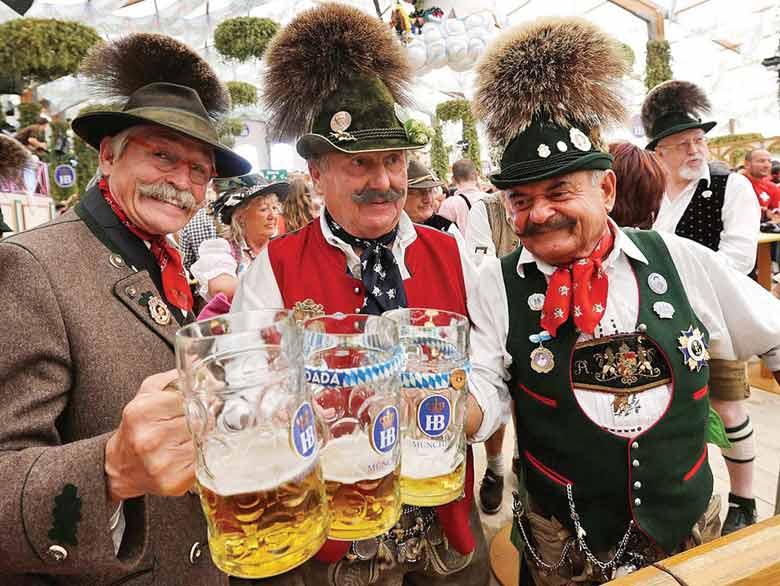 пивной фестиваль в Штутгарте