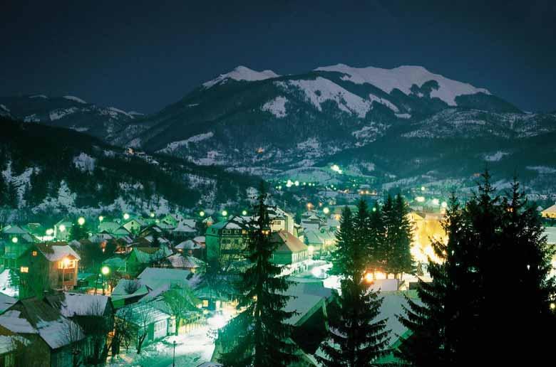 Колашин зимой Черногория