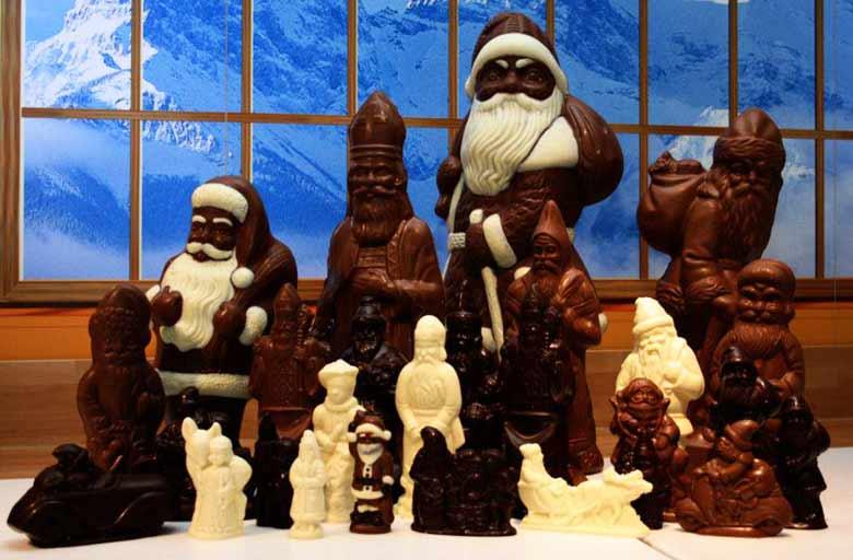 музей шоколада в Швейцарии