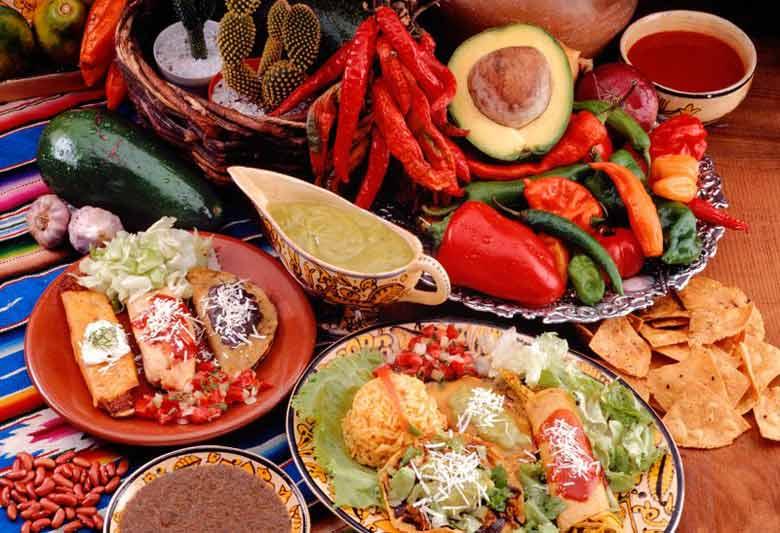 новогодняя кухня в Перу