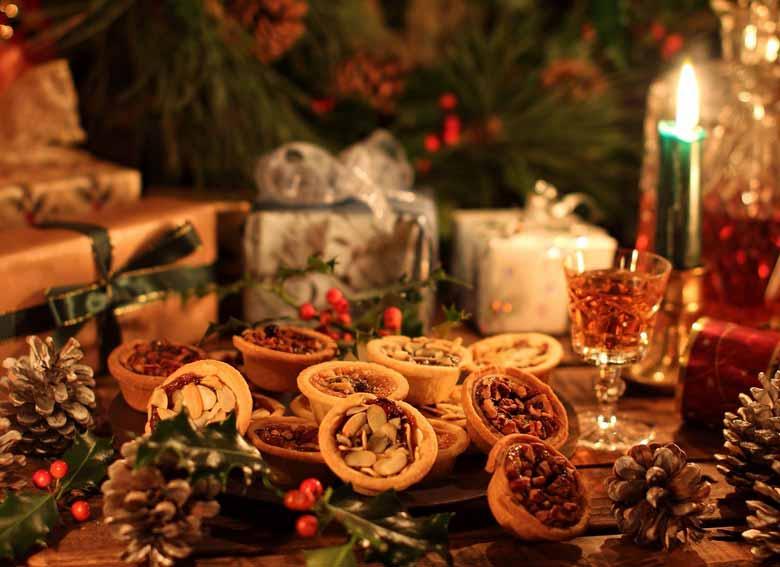 новогодние сладости в Словении