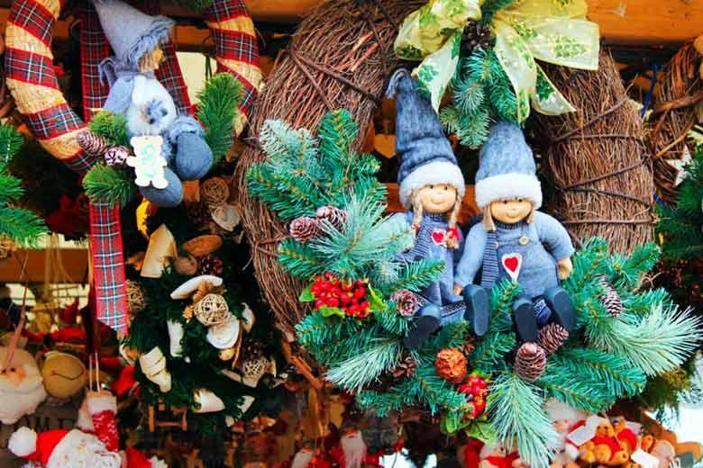 новогодние сувениры в Литве