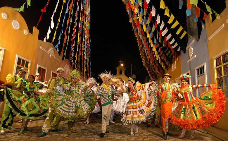 Новогодний карнавал в Бразилии