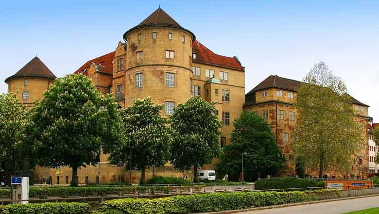Старыйзамок в Штутгарте