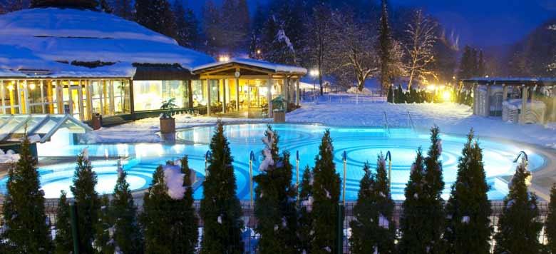 термальный курорт в Словении зимой