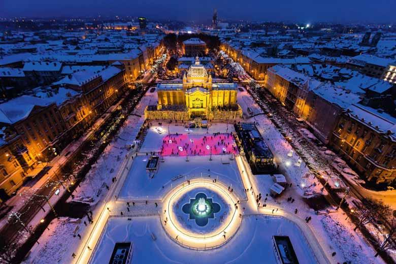 Новогодний Загреб - Хорватия