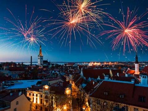 отдых в Эстонии на Новый год
