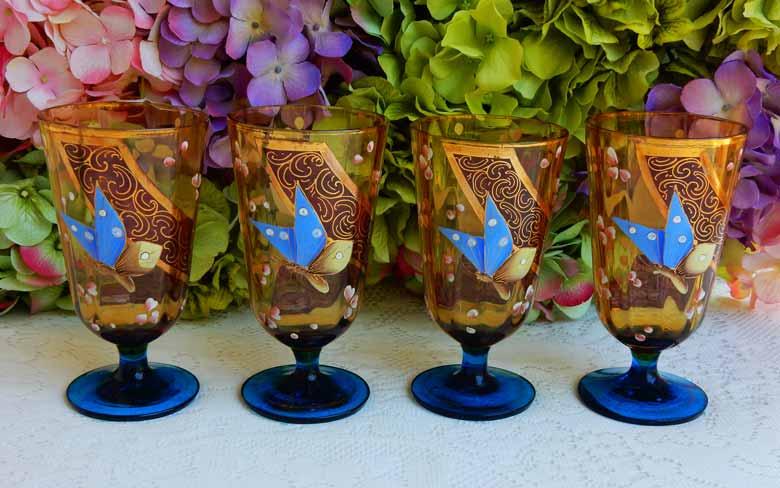 Богемское стекло из Чехии