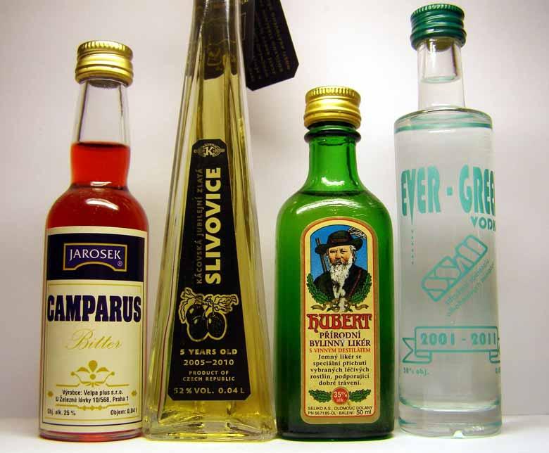 сливовица - чешская водка