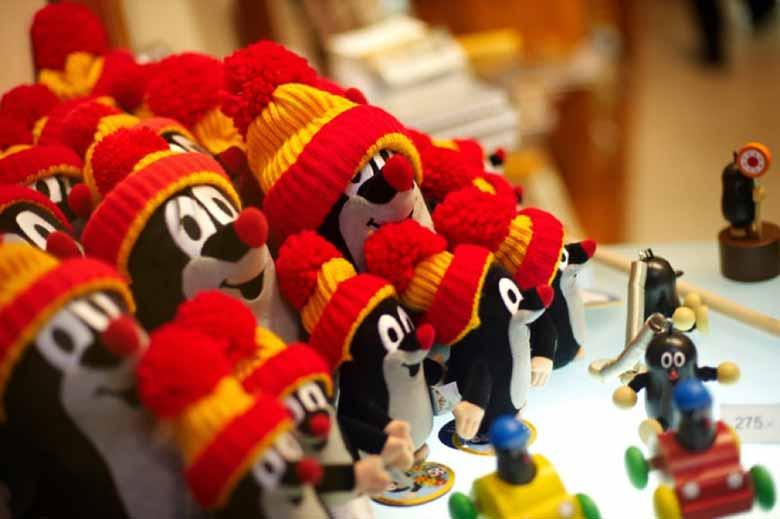 игрушки из Чехии - Кротик