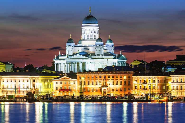 Сенатская площадь в Хельскинки