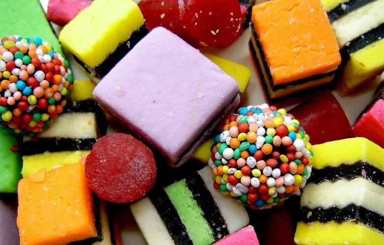 Лакричные конфеты из Финляндии