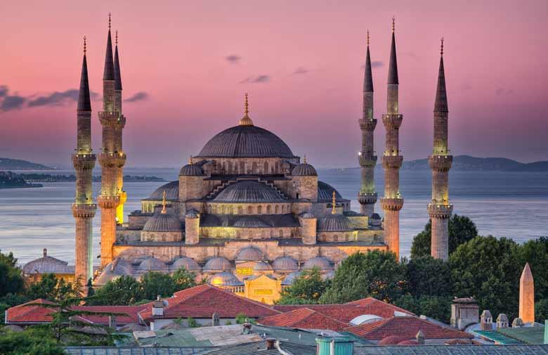 Мечеть султана Ахмеда в Стамбуле