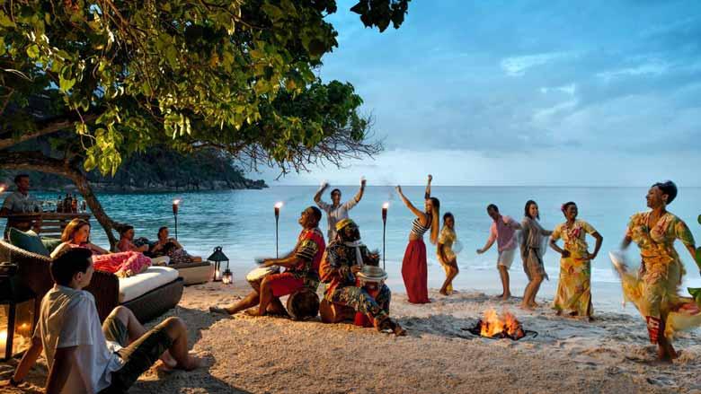 Новогоднее веселье на Сейшелах