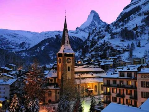 Новый год в Швейцарии