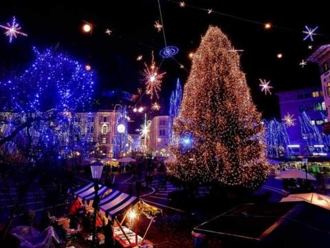 Новый год в Словении