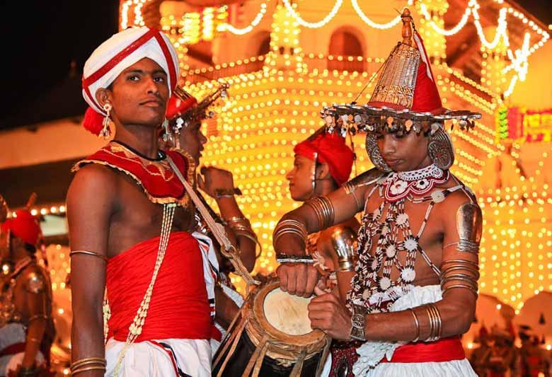 Новогодние праздники на Шри-Ланке
