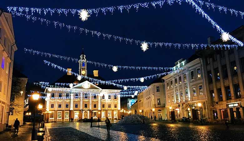 Тарту - Новый год