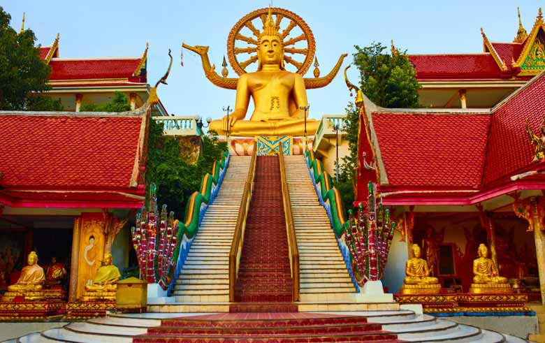 Золотой Будда в Таиланде