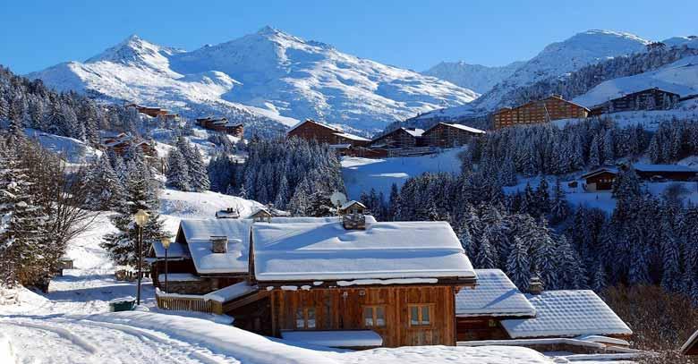 Мерибель - горнолыжный курорт Франции