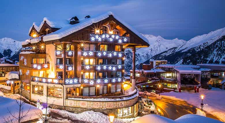 Куршевель горнолыжный курорт Франции