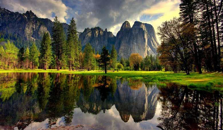 Йосемитский национальный парк в Калифорнии