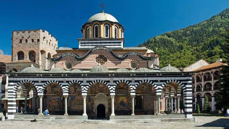 Рильский монастырь Болгарии