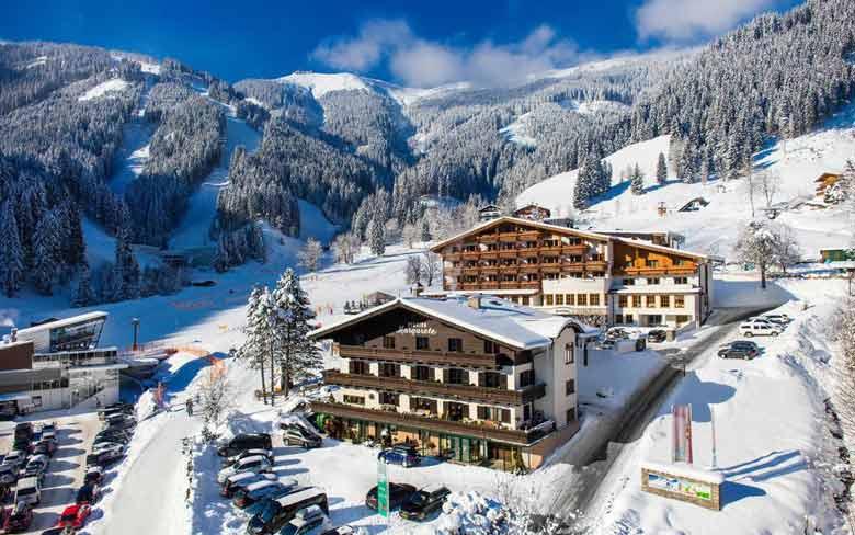 Горнолыжный курорт Цель-ам-Зее в Австрии