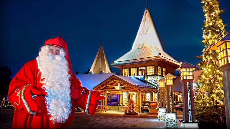 Дом Санта-Клауса в Лапландии