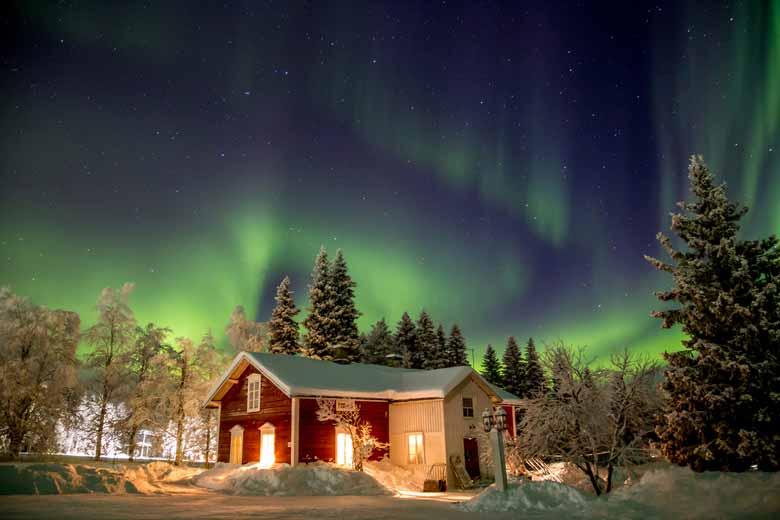 отдых зимой в Лапландии