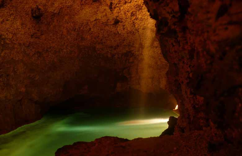 Пещера Харрисона в Барбадосе