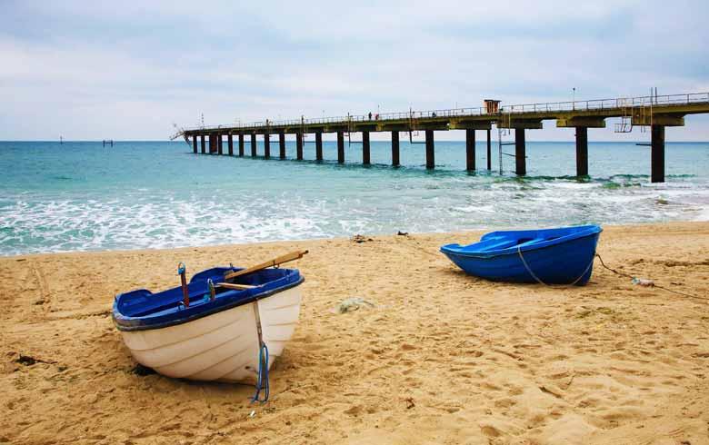 Пляж Шкорпиловци