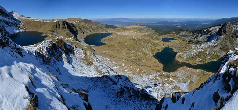 Сем озер в Болгарии