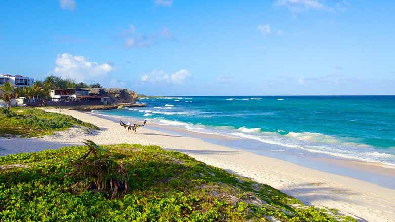 Пляж Серебряные пески в Барбадосе