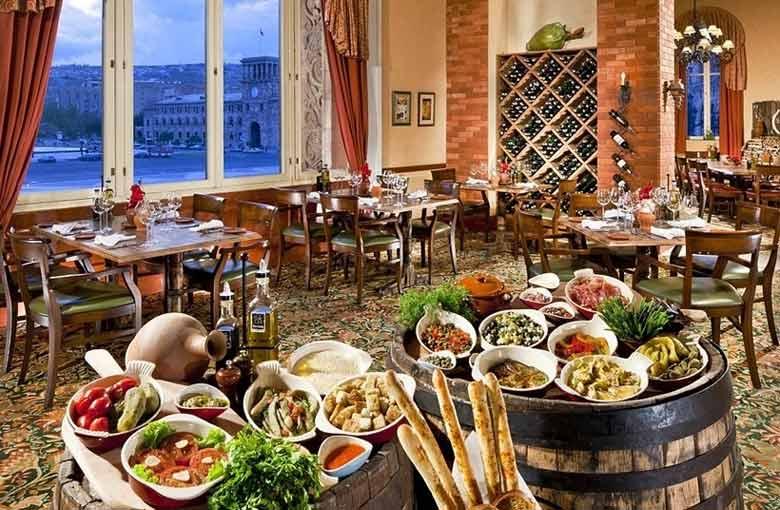 Цахкадзор - рестораны