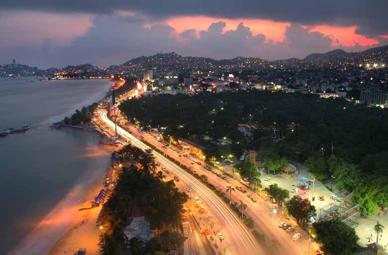 Мексиканский курорт Акапулько