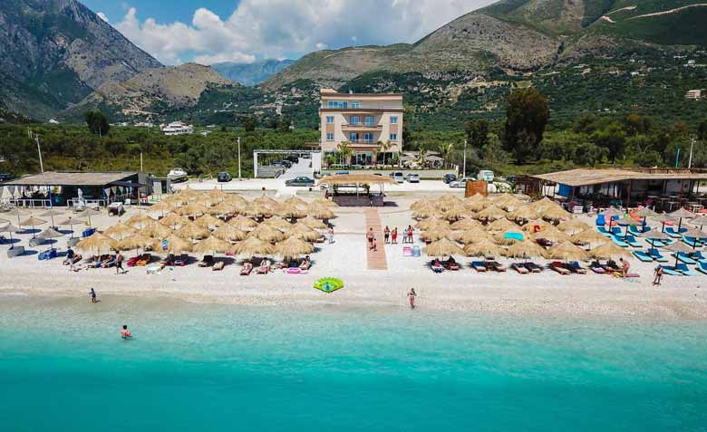 Борщ - курорт Албании