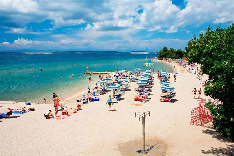 Црни Моло – знаменитый пляж Цриквеницы