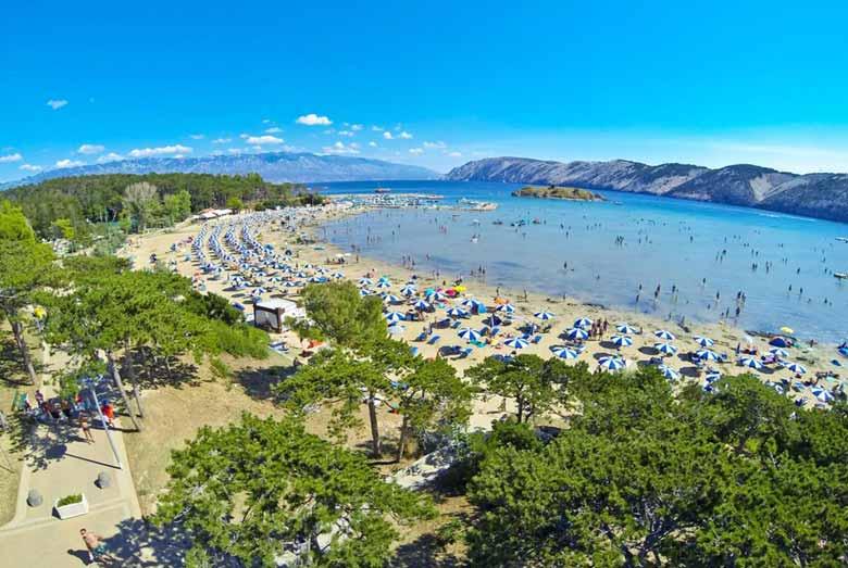 Пляж Парадиз в Лопаре