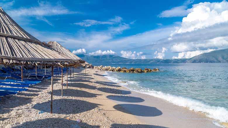Пляж Спилле в Албании