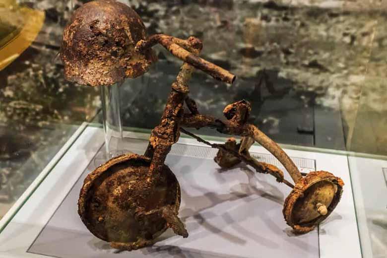 Экспонат в Музее мира в Хиросиме