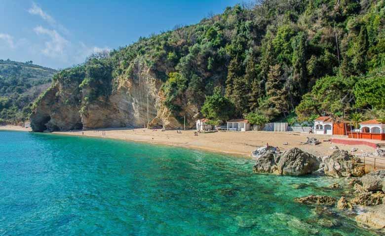 Пляж Яз в Черногории