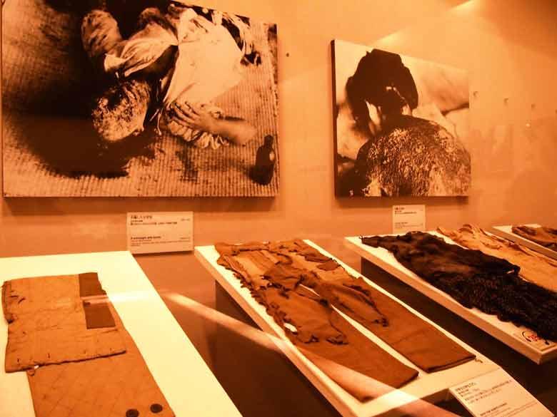 Выставка в Музее мира в Хиросиме
