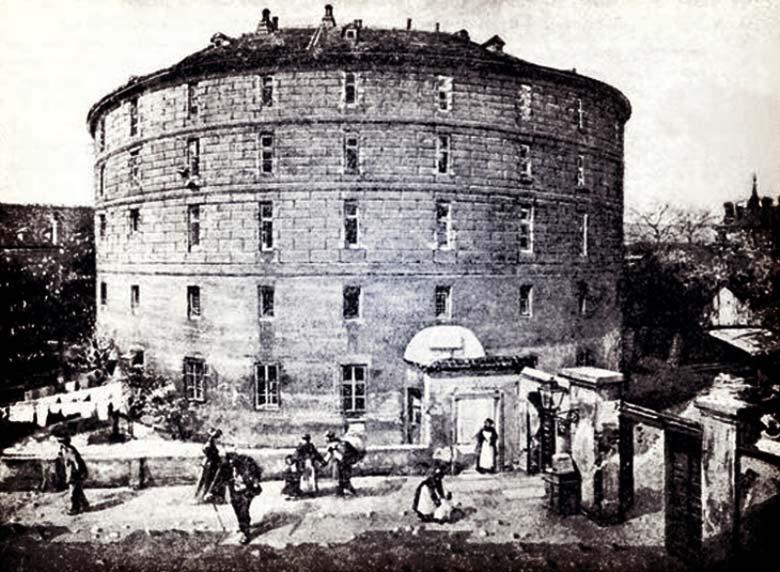 Башня Дураков на старом фото