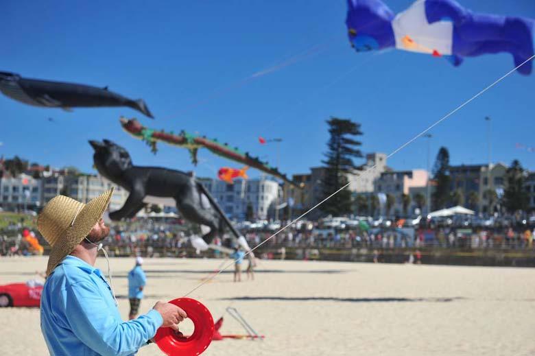 Фестиваль Ветров на Бонди-Бич