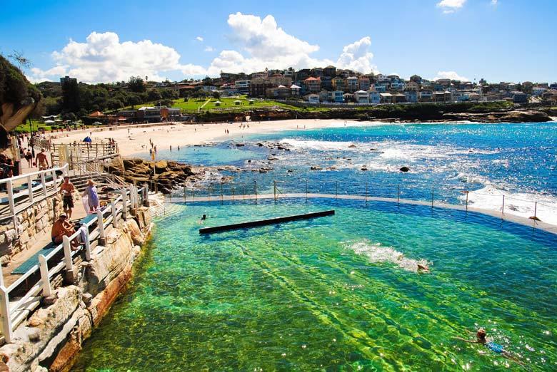 Пляж Бронте в Австралии